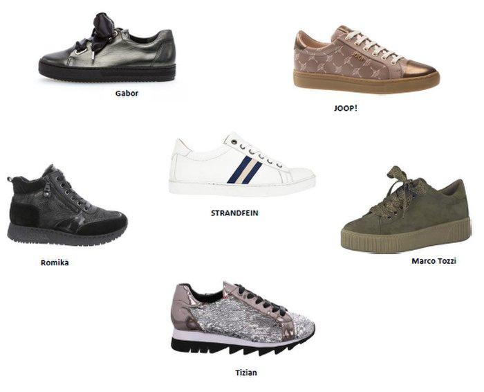 Viele Sneaker punkten mit eleganten Details