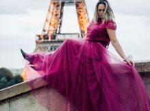 Ein schönes Abendkleid verströmt viel Stil und Eleganz