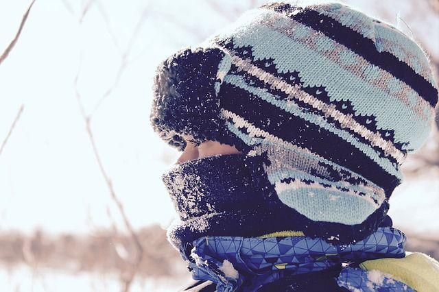 Fröhliche Winterfarben machen gute Laune an kalten Tagen