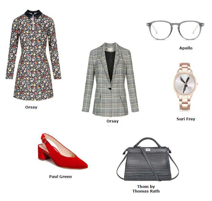 Taschen mit extra viel Stauraum, coole Chronographen und filigrane Korrekturbrillen