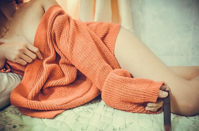 Nichts geht über einen kuscheligen Pullover an kalten Tagen