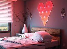 Eine stimmungsvolle Symphonie aus Farbe und Licht bieten die Nanoleaf Light Panels