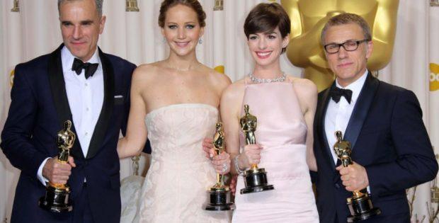 So sehen die stolzen Gewinner des Oscars aus