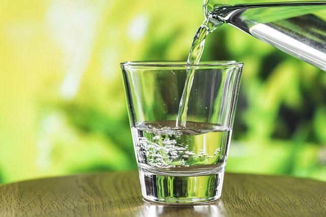 Wasser ist ein wichtiges Lebensmittel
