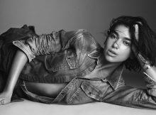 Dua Lipa als Jeans-Werbemodel