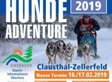 Plakat Schlittenhunde Adventure