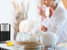 Fasten mit Hilfe von Tee