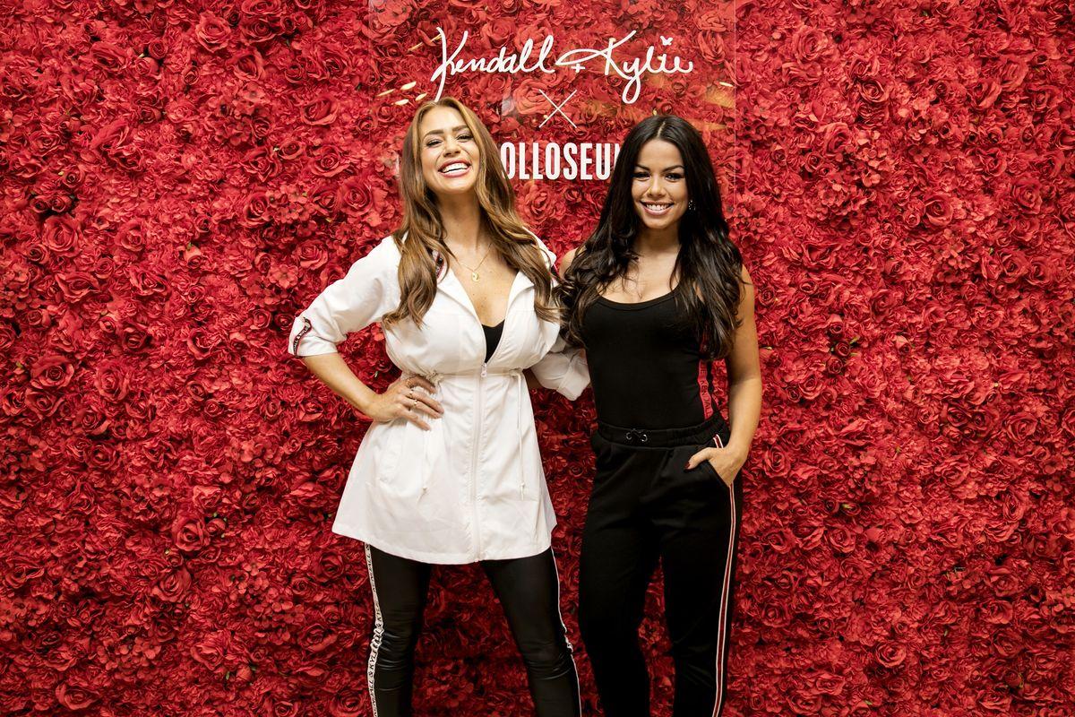 Jessica Paszka und Fernanda Brandao
