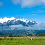 Kärntner Berge: Schnee, Frühling und Camping