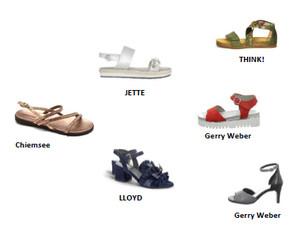 Sommerkleidchen und zarten Sandaletten