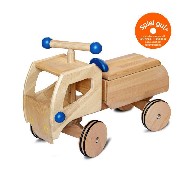 Fred - Das innovative Rutschauto aus Holz von Dynamiko