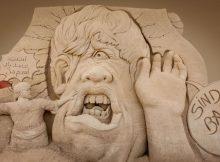 Phantastische Themenwelt bei der Sandskulpturenausstellung in Warnemünde (Karls Erlebnis-Dorf)