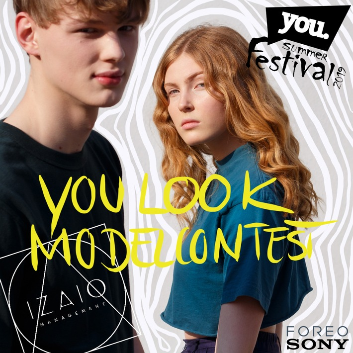 YOU LOOK Modelcontest und Beauty Trends auf dem YOU Summer Festival