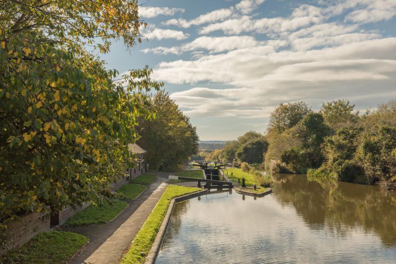Idylle pur: Die Kanallandschaften im Herzen Englands