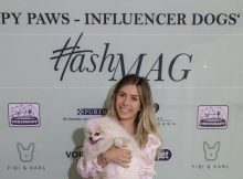 "[caption id=""attachment_72233"" align=""aligncenter"" width=""710""] Influencerin Luisa Lion mit Hund Leo auf erstem HashMAG Influencer Dogs' Day. obs/HashMAG/Lesander Scharlaug""[/caption]"