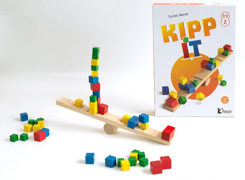 Kippit - tolles Geschicklichkeitsspiel für zwei Personen