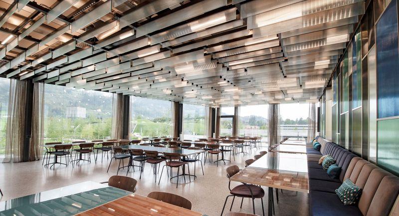 Raum für kulinarische Höhenflüge
