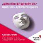"""""""Stark sein, Schwäche zeigen!"""": Auftakt der Social Media-Kampagne von Jugendnotmail"""