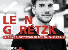 Leon Goretzka Deutsches Rotes Kreuz