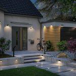 Kabelloses günstiges Licht durch solarbetriebene Außenleuchten