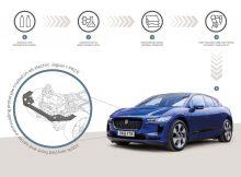 Jaguar Land Rover und BASF erforschen Möglichkeiten, aus Plastikabfall hochwertigen Kunststoff für den Einsatz in Fahrzeugen zu gewinnen.
