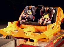 ADAC-Kindersitztest: Beim Chicco Oasys i-Size reißt das Gurtschloss.