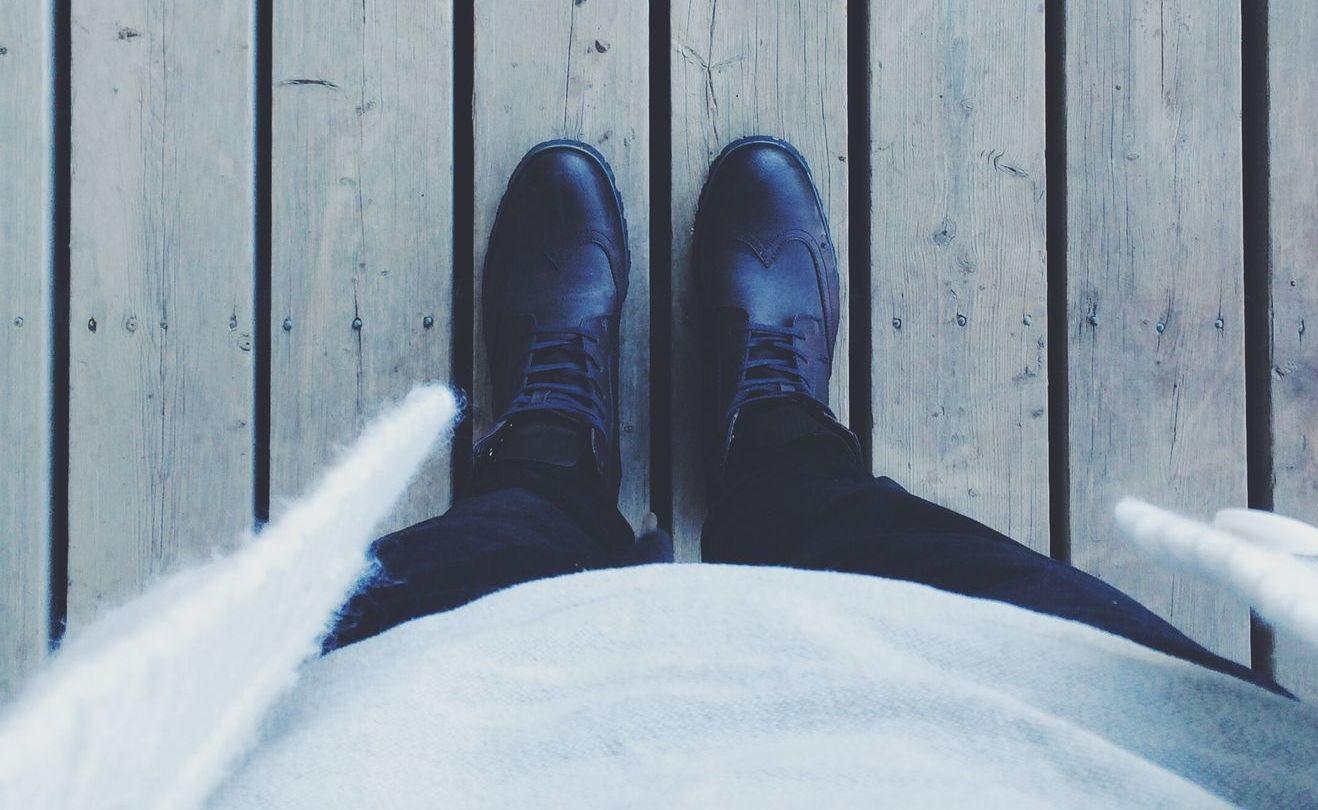 Große Herrenschuhe für den modebewussten Mann
