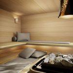 Ausgezeichnete, komfortable und hochfunktionale Saunakissen