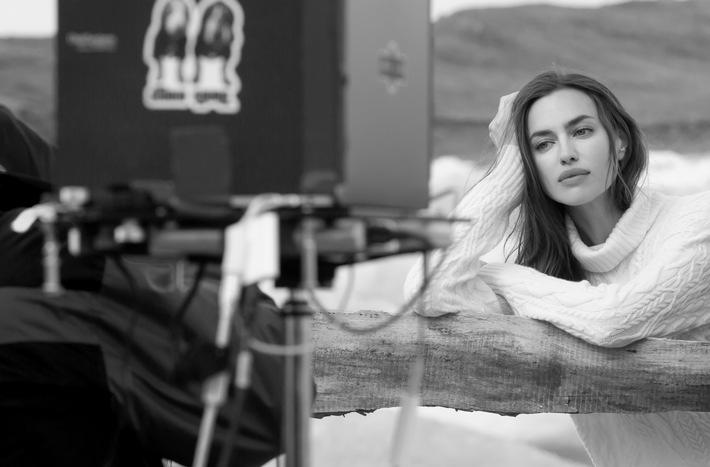 FALCONERI Fashion Show und Kampagne mit Topmodel Irina Shayk