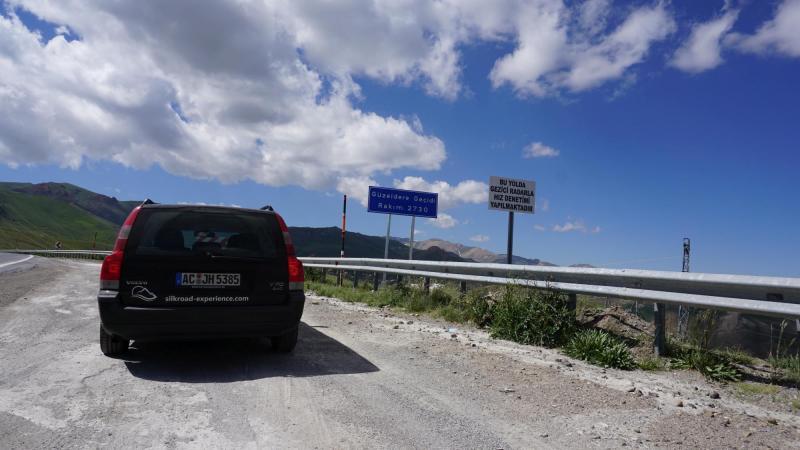 Pass-Straße in Anatolien