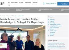 TV-Reportage über schöne Bäder