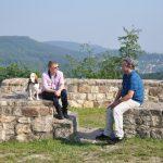 Deutschlands bekanntester Wanderblogger Manuel Andrack mit Stephan Prinz zur Lippe unterwegs