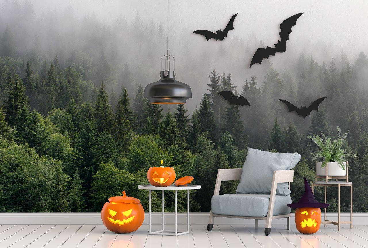 Coole Halloweendeko macht Spass und erfreut die Nachbarn