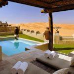 Der Wüstenpalast Qasr Al Sarab Desert Resort begeistert mit verschiedenen Neuheiten