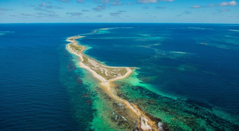 Luftaufnahme Abrolhos Islands (c)Australia's Coral Coast