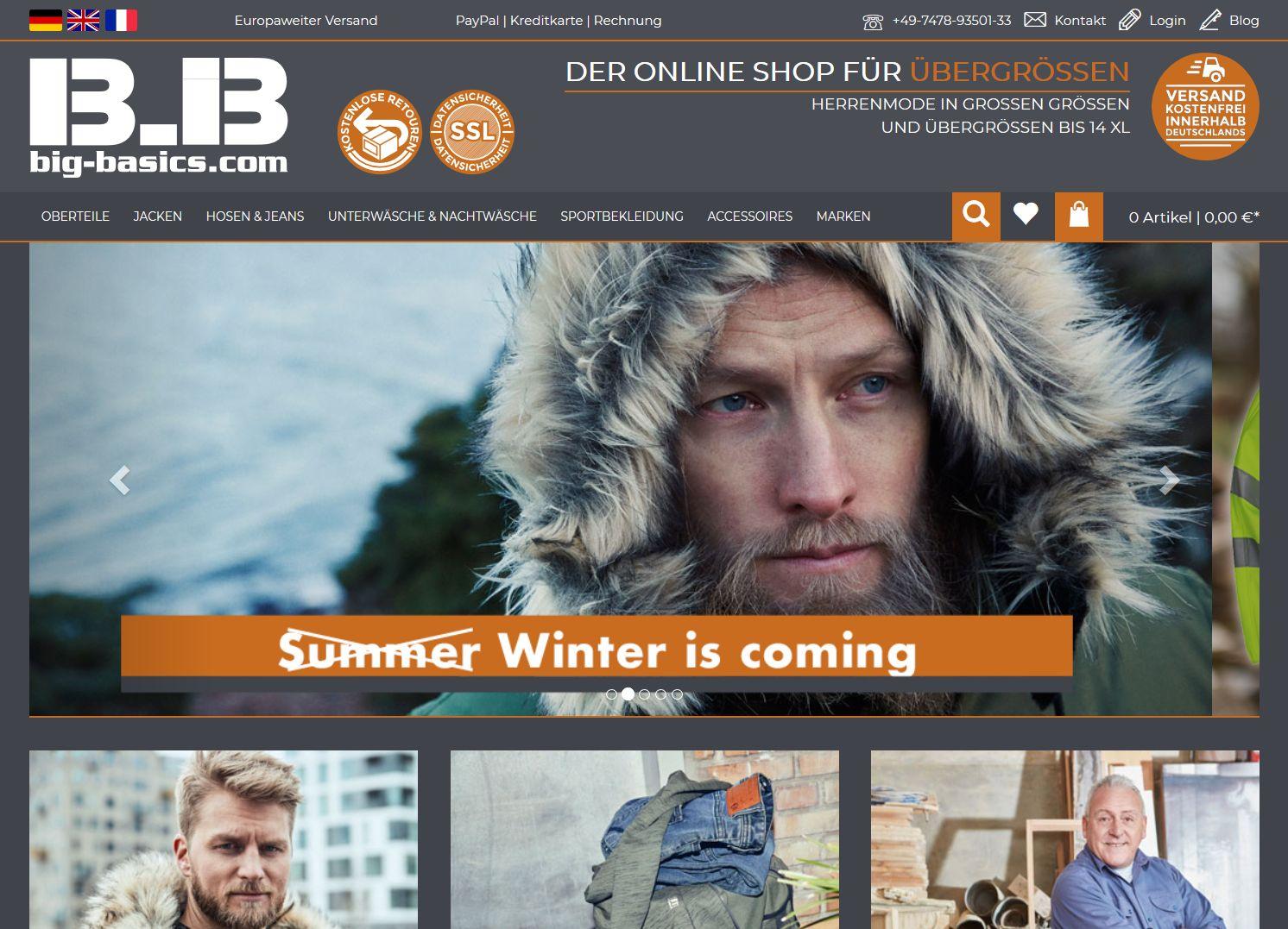 Screenshot Website