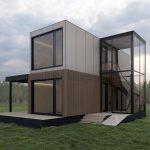 Vorgefertigte Wohnmodule ermöglichen den Traum vom eigenen Haus – mit Video