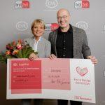 Gründerin Uschi Glas erhält 200.000 EUR von C&A für brotZeit e.V.