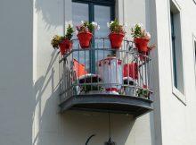 Auch kleine Balkone bieten einen Mehrwert an Wohnqualität