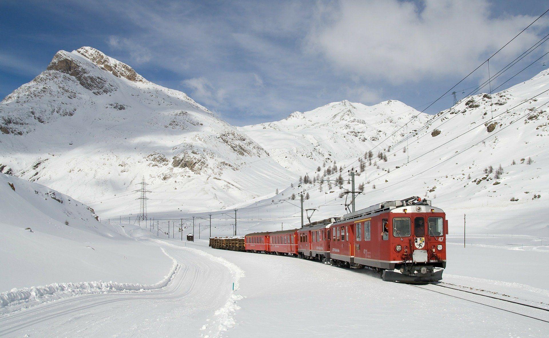 """Bimmelbahn"" in den Bergen"
