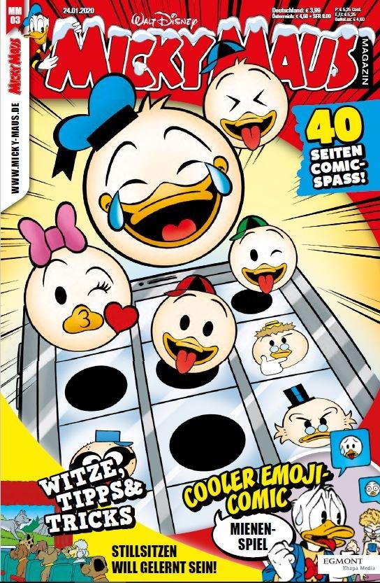 Cover des Micky Maus-Magazins 3/20 vom 24.01.2020