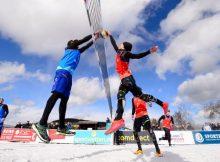 Die Snow-Volleyball Meisterschaft findet nahe des Hotel Allgäu Sonne statt