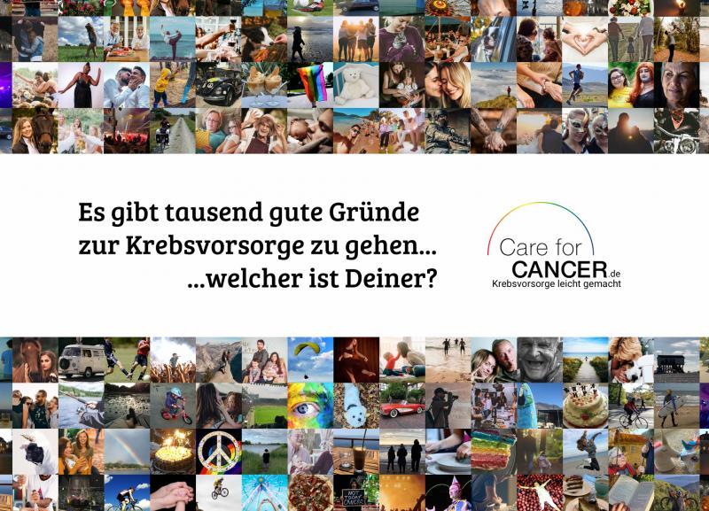 Tausend gute Gründe für die Krebsvorsorge