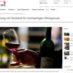 Genusstresor sichert das Aroma: Der Weinkeller im Wohnzimmer