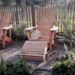 Gartentrend: Mit einem edlen Adirondack Chair den Frühling begrüßen