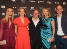 Lilly Krug, Julia Jaekel, Nico Hoffmann, Veronica Ferres and Stephan Schaefer