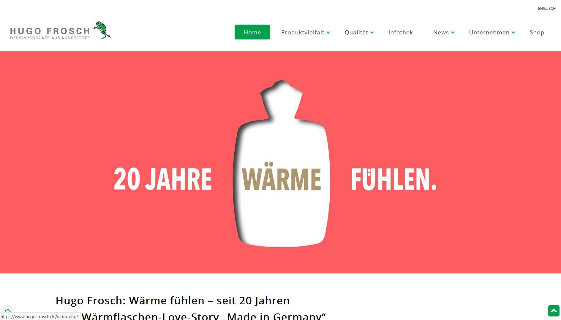 Wärmflaschen Made in Germany