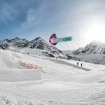 Heisser Winterspass: Mittelpunkt der Snowboarder-Szene ist der KPark Kühtai
