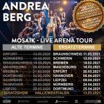 Ersatztermine Andrea Berg: Mosaik Live – DVD mit Show-Highlights