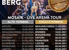 Doppel-Live CD inkl. DVD mit Show-Highlights der Mosaik-Live Arena Tour